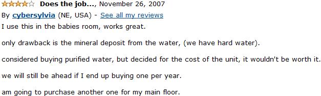 vicks v745a customer review 4